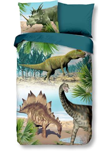 "Good Morning Komplet pościeli ""Dino"" ze wzorem"