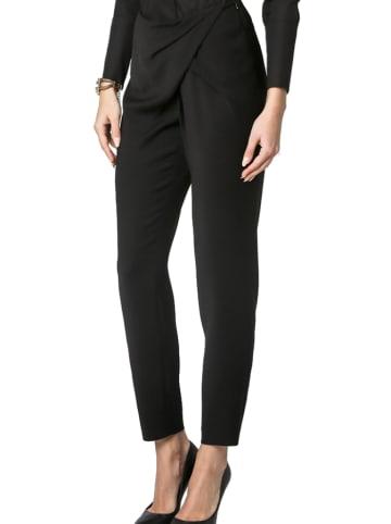 Deni Cler Spodnie w kolorze czarnym