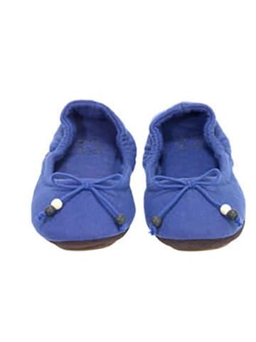 """Flip Flop Ballerinas """"Homemate"""" in Blau"""