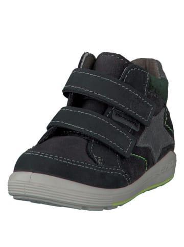 "PEPINO Leren sneakers ""Kimi"" antraciet"