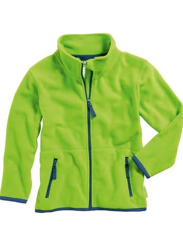 Playshoes Fleece vest groen