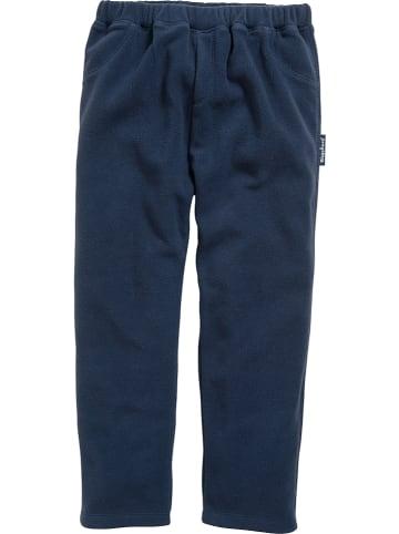Playshoes Fleece broek donkerblauw