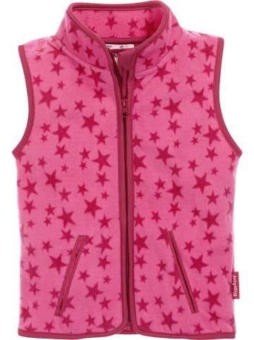Playshoes Kamizelka polarowa w kolorze różowym