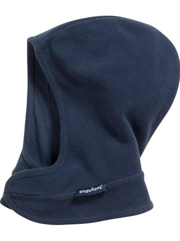 Playshoes Fleece bivakmuts donkerblauw