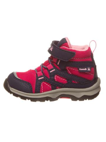 "Kamik Boots ""Blitz"" roze/donkerblauw"