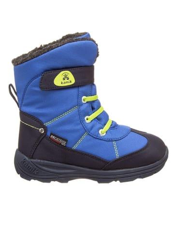 "Kamik Winterboots ""Snowman"" in Blau/ Gelb"