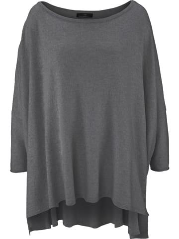 Zwillingsherz Pullover in Grau