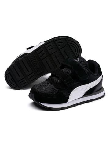 "Puma Leder-Sneakers ""Vista V"" in Schwarz"