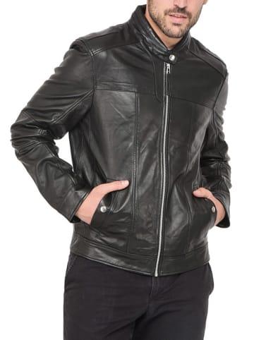 Isaco und Kawa Skórzana kurtka w kolorze czarnym