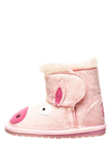 "EMU Winterboots ""Piggy Walker"" lichtroze"
