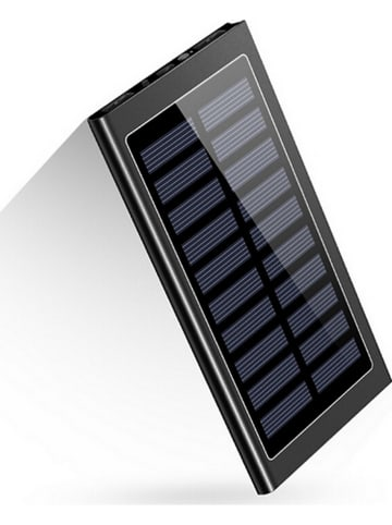 SmartCase Solar-Powerbank in Schwarz - 20.000 mAh