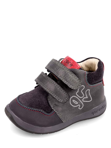 Garvalin Skórzane sneakersy w kolorze granatowym