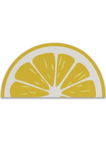 """Really Nice Things Wycieraczka """"Lemon"""" w kolorze żółtym - 72 x 42 cm"""