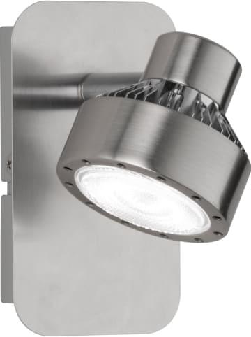 """WOFI Ścienna lampa LED """"Local"""" w kolorze srebrnym - 12 x 7 cm"""