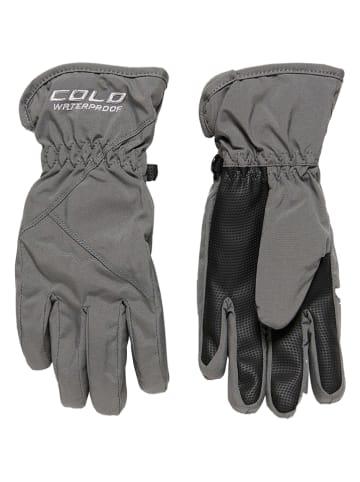 HULABALU Rękawiczki softshellowe w kolorze szarym