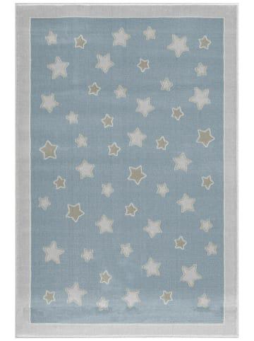 "Kids love rugs Geweven tapijt ""Planet"" blauw"
