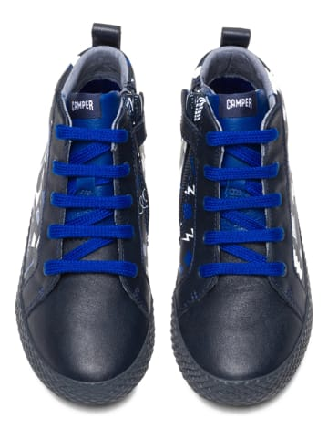 "Camper Sneakers ""Cub"" zwart/donkerblauw"