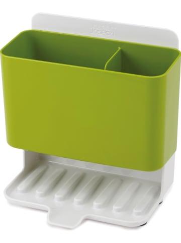 JosephJoseph Organizer w kolorze zielono-białym do mycia naczyń - (S)19 x (W)18 x (G)12 cm