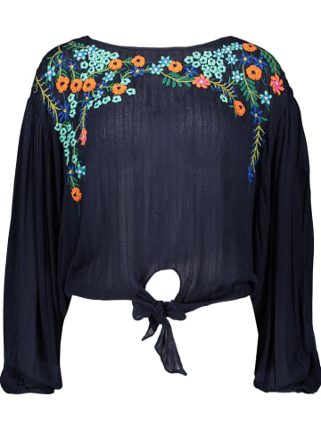 Free people Blouse donkerblauw