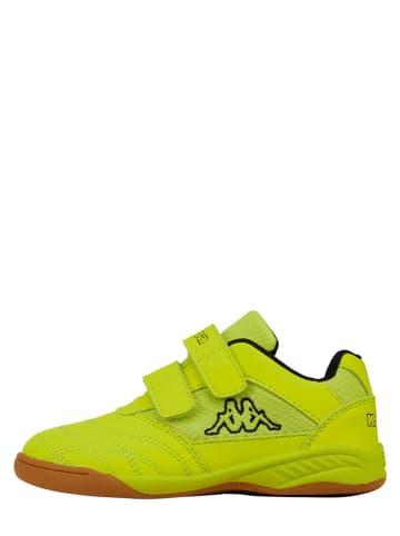 """Kappa Sneakers """"Kickoff"""" geel"""