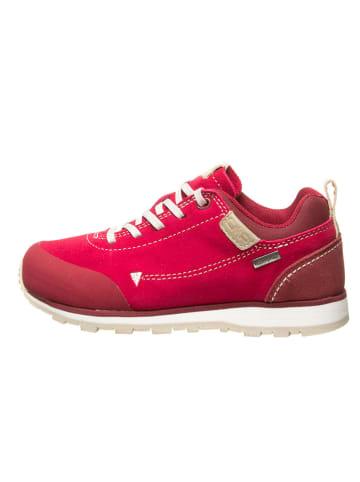 """CMP Skórzane buty turystyczne """"Elettra"""" w kolorze czerwonym"""