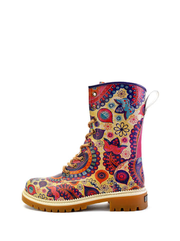 Goby Boots in Gelb/ Bunt