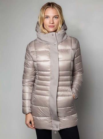 Winter Selection Płaszcz zimowy w kolorze szarobrązowym