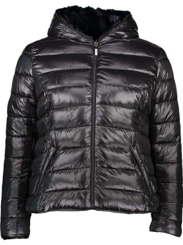 Winter Selection Dwustronna kurtka zimowa w kolorze czarnym