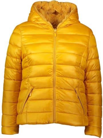 Winter Selection Dwustronna kurtka zimowa w kolorze żółtym