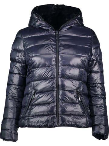Winter Selection Dwustronna kurtka zimowa w kolorze granatowym
