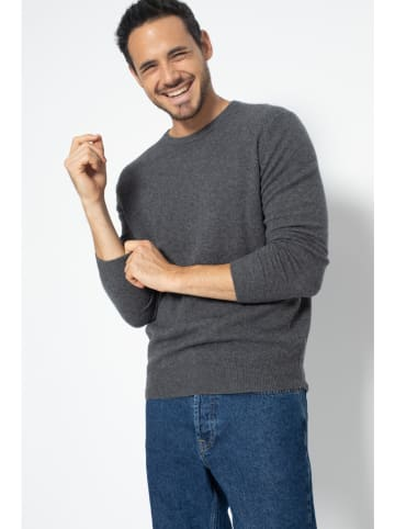 AUTHENTIC CASHMERE Kaszmirowy sweter w kolorze antracytowym