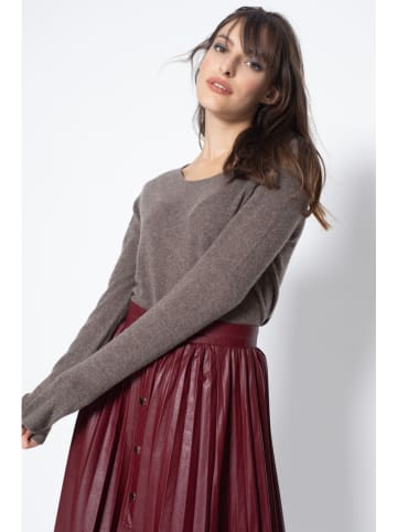 """AUTHENTIC CASHMERE Kaschmir-Pullover """"Epena"""" in Braun"""