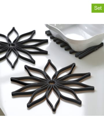 Steel-Function Podkładki (3 szt.) w kolorze czarnym