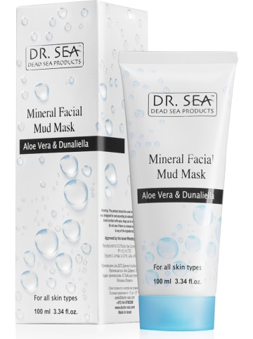 "DR. SEA Maseczka do twarzy ""Mineral Mud - Aloe Vera & Dunaliella"" - 100 g"