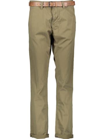 TOM TAILOR Denim Spodnie chino w kolorze oliwkowym