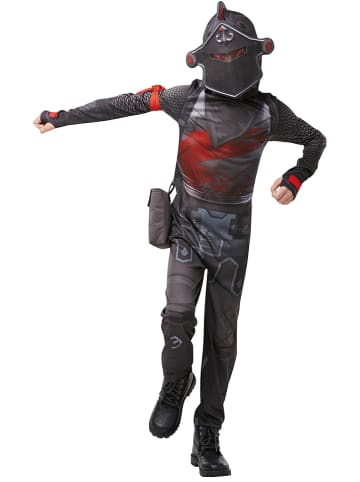 "Rubie`s 3-delig kostuum ""Black Knight Fortnite"" antraciet"