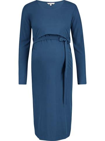 Noppies Sukienka ciążowa w kolorze niebieskim z funkcją karmienia