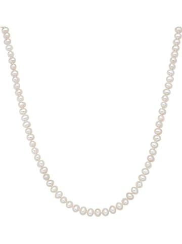 Nova Pearls Copenhagen Naszyjnik perłowy w kolorze białym - dł. 90 cm