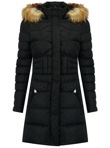 """Geographical Norway Płaszcz zimowy """"Annael"""" w kolorze czarnym"""