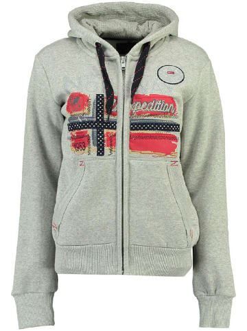 "Geographical Norway Sweatvest ""Farlotte"" grijs"