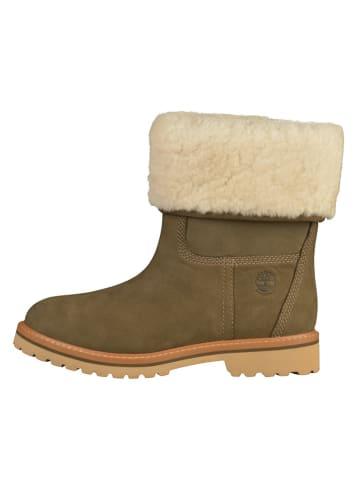 Timberland Leren boots bruin
