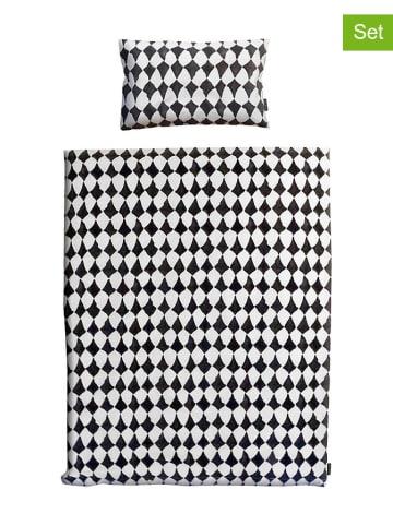Elodie Details Komplet pościeli w kolorze czarno-białym