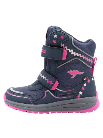 """Kangaroos Boots """"K-Plush V RTX"""" in Dunkelblau"""