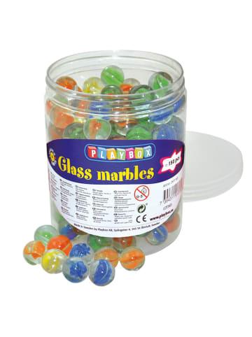 Playbox 150-częściowy zestaw szklanych kulek