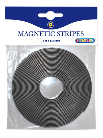 Playbox Taśma magnetyczna w kolorze czarnym - dł. 500 cm