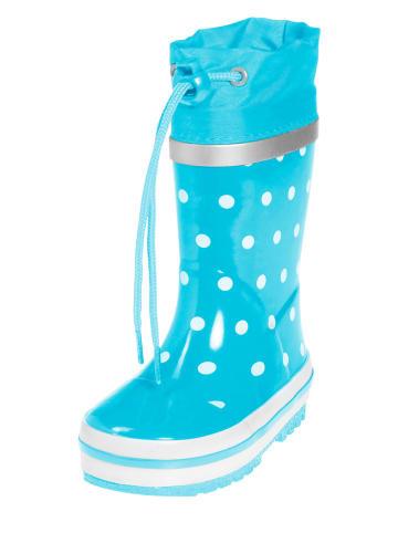 Playshoes Kalosze w kolorze błękitnym
