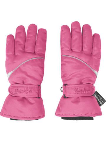 Playshoes Rękawice w kolorze różowym