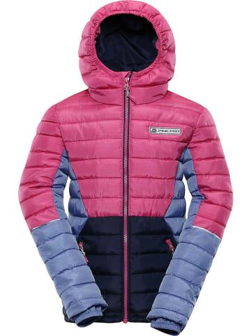 "Alpine Pro Winterjas ""Barroko 4"" roze/donkerblauw"