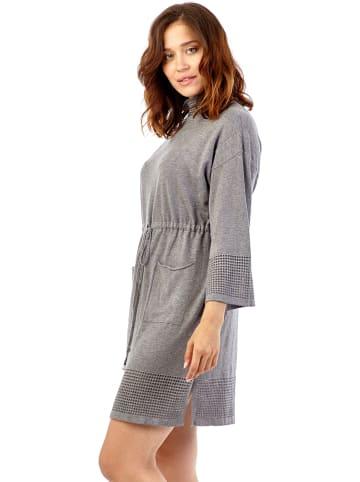 Synonyme Georges Rech Sukienka w kolorze szarym