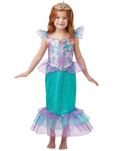 """Rubie`s 2-częściowy kostium """"Arielle"""" w kolorze fioletow-turkusowym"""